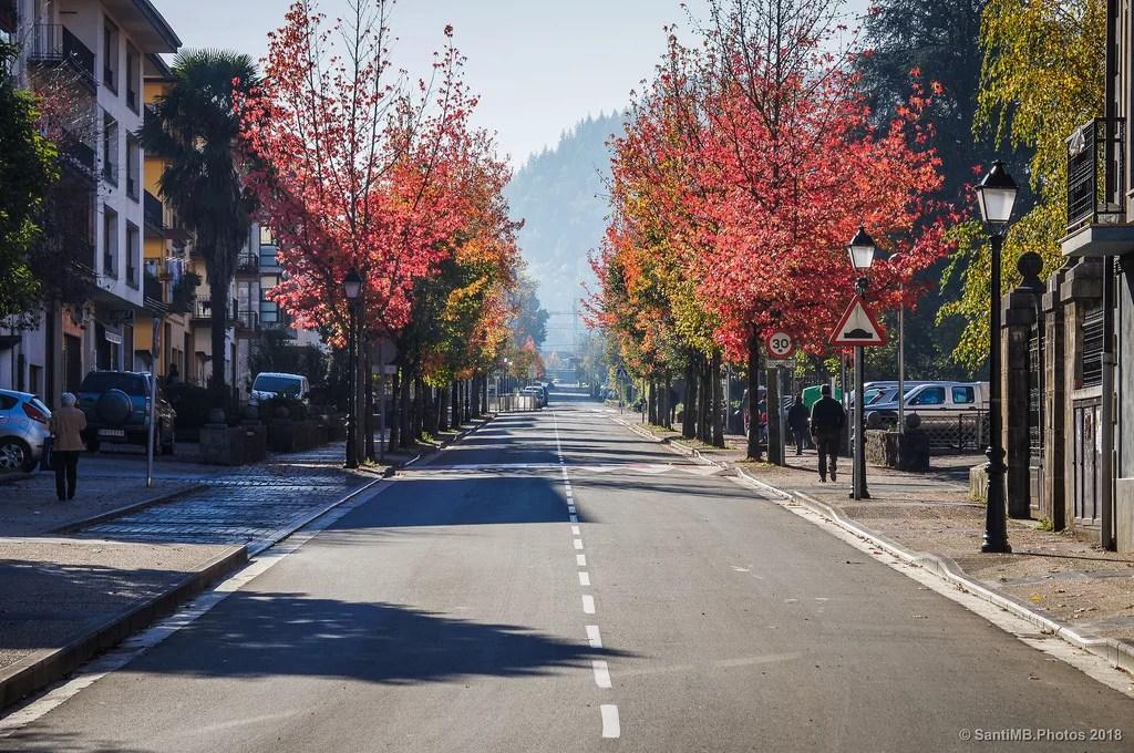 Por la calle principal