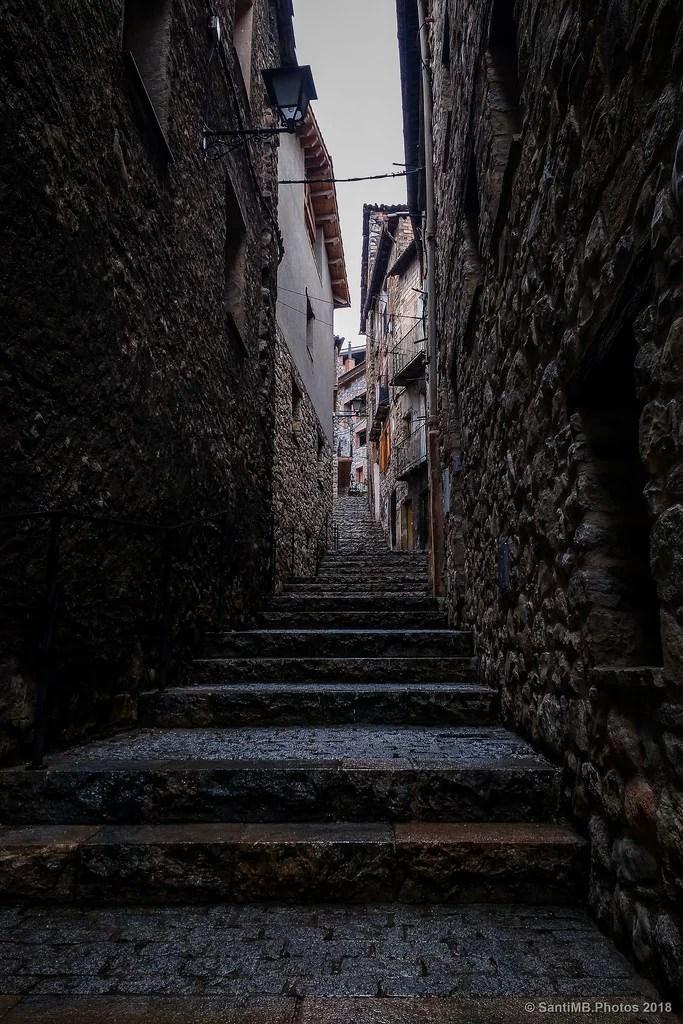Evita los callejones oscuros