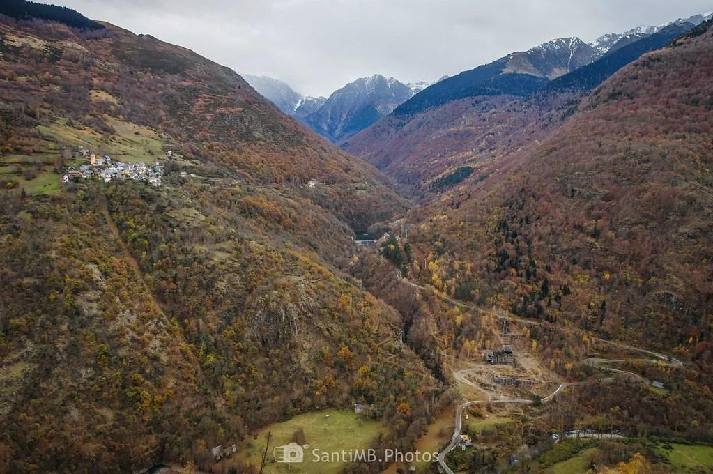 La entrada al valle