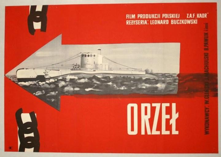 Orzeł (1958) - plakat 2