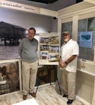 CIHS Past President Jim Pigott, left, and President Tom Libonante