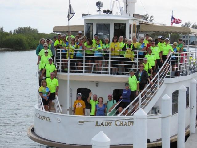 Sanibel Bike Club Takes Off Island Trip to Boca Grande