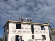 Volunteers work to restore the community and provide relief to the Green Turtle Cay community
