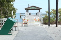 Sanibel Fishing Pier closed