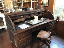 Frank Bailey's desk in the Old Bailey Store