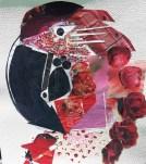 Macaw Mosaic. Original collage by Anita Force Marshall