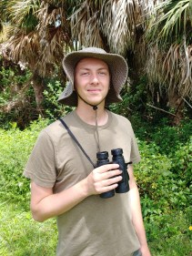 Intern Patrick Carney says he'll never tire of seeing anhingas, ibises, and herons constantly flying overhead on Sanibel.