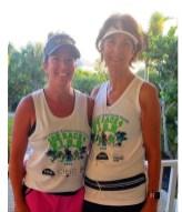 Diane Cortese and Gretchen