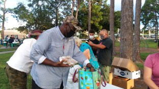 Chef Jarred cooks and feeds those less fortunate with Burning Bush Ministries in Fort Myers