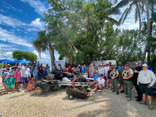 Captiva Community Cleans Up The Island's Coast, Waterways
