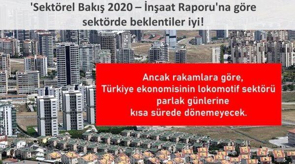 TMB'DEN İNŞAAT 2020 DEĞERLENDİRMESİ