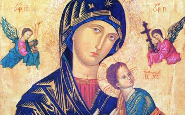 Uma Novena a Nossa Senhora do Perpétuo Socorro