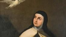 Marcador de Santa Teresa: Uma oração por confiança e paciência