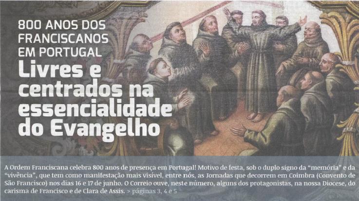 recorte da edição do Correio de Coimbra de 8 de junho de 2017