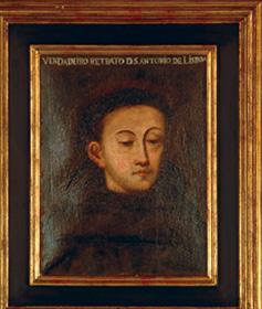 Verdadeiro retrato de Santo António – Sacristia