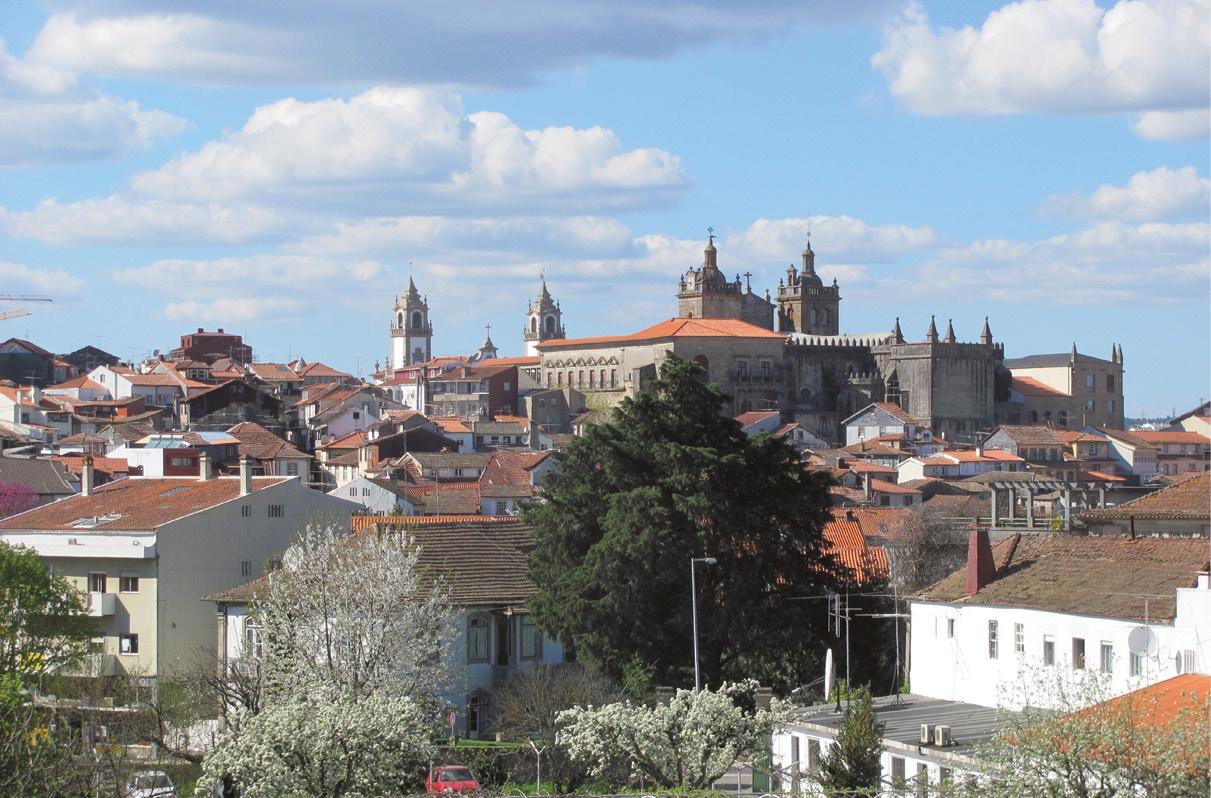 Centro histórico da cidade de Viseu