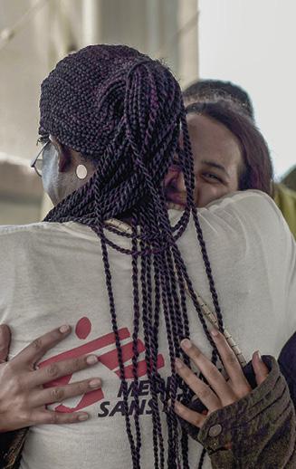 Foto 'Médicos Sem Fronteiras'. Últimos momentos a bordo do Aquarius antes do desembarque em Valência, Espanha, 17 de junho de 2018.