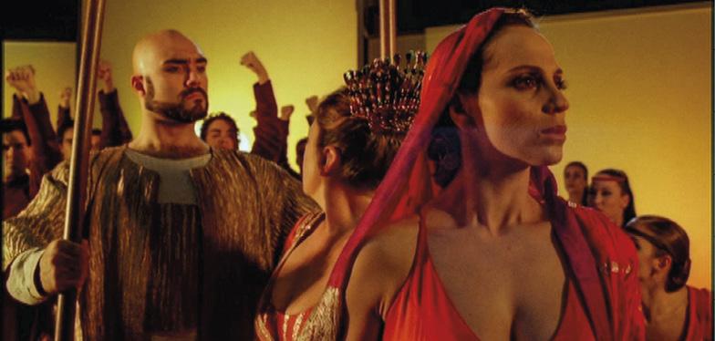 Cena do filme Salomé, dirigido por Carlos Saura, 2002
