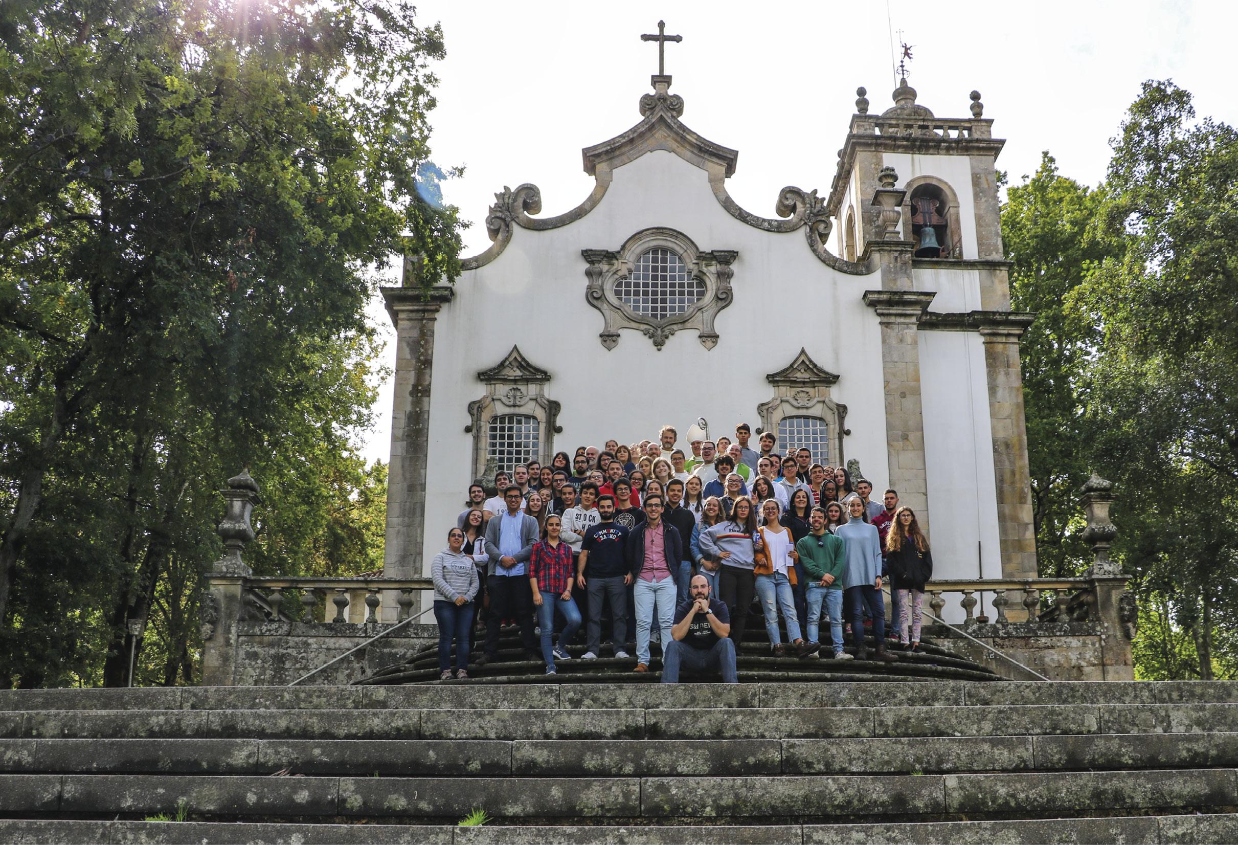 Tau day Viseu 2018. Igreja dos Terceiros.