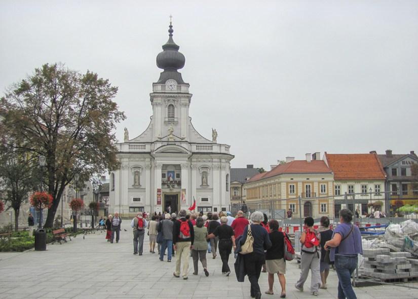 Igreja de S. João Paulo II, Wadowice, Polónia. Foto MSA.