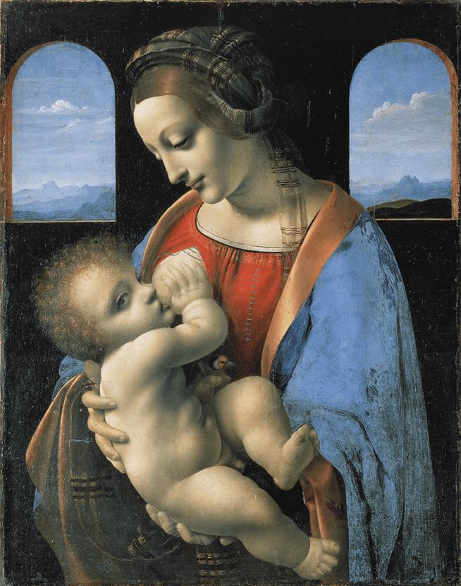 Leonrado da Vinci, Madona Litta