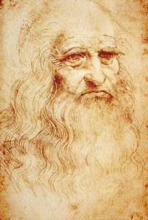 Leonardo da Vinci: auto retrato