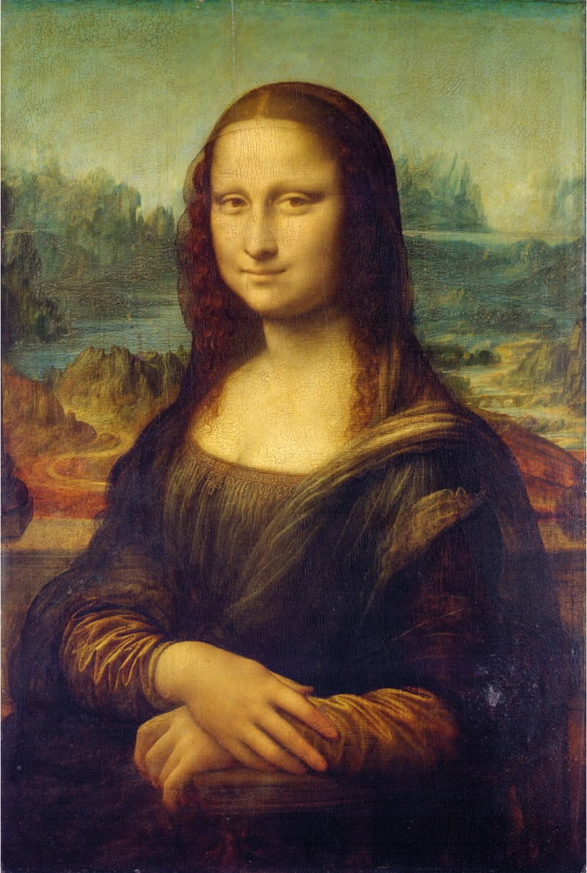 Mona Lisa de Leonardo da Vinci, Museu do Louvre. https://commons.wikimedia.org