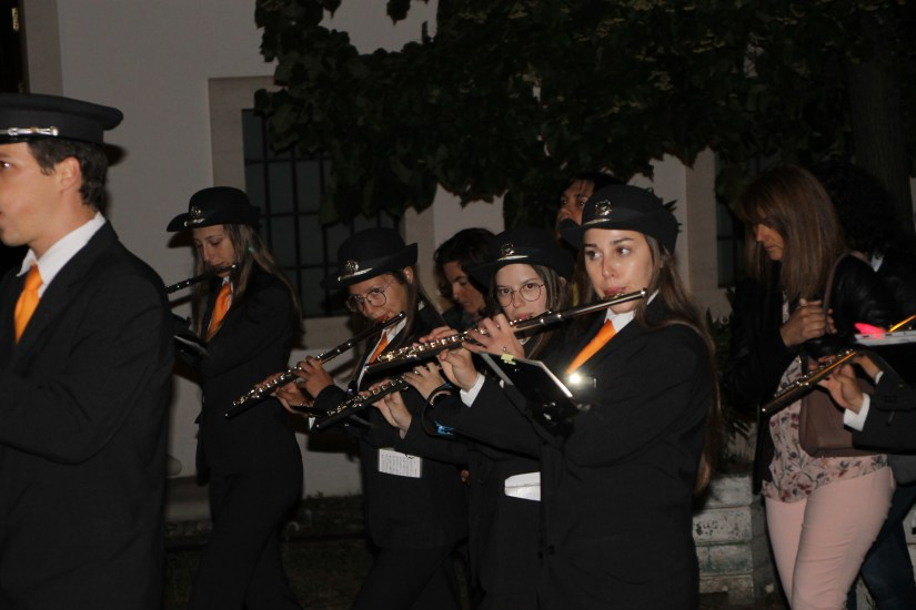 Igreja de Santo António dos Olivais, procissão, 13 Junho 2019 - Filarmónica Boa Nova Lorvanense