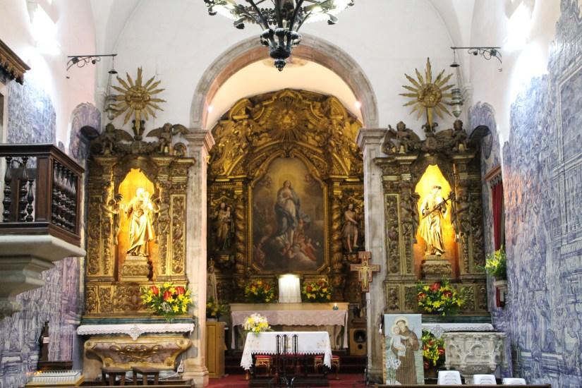 Igreja de Santo António dos Olivais, altar-mor, 13 Junho 2019