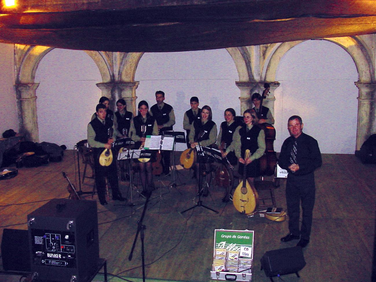 Igreja de Santo António dos Olivais, grupo de cordas Allegro, Junho 2002