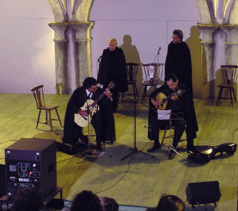 Igreja de Santo António dos Olivais, fados de coimbra, Junho 2002