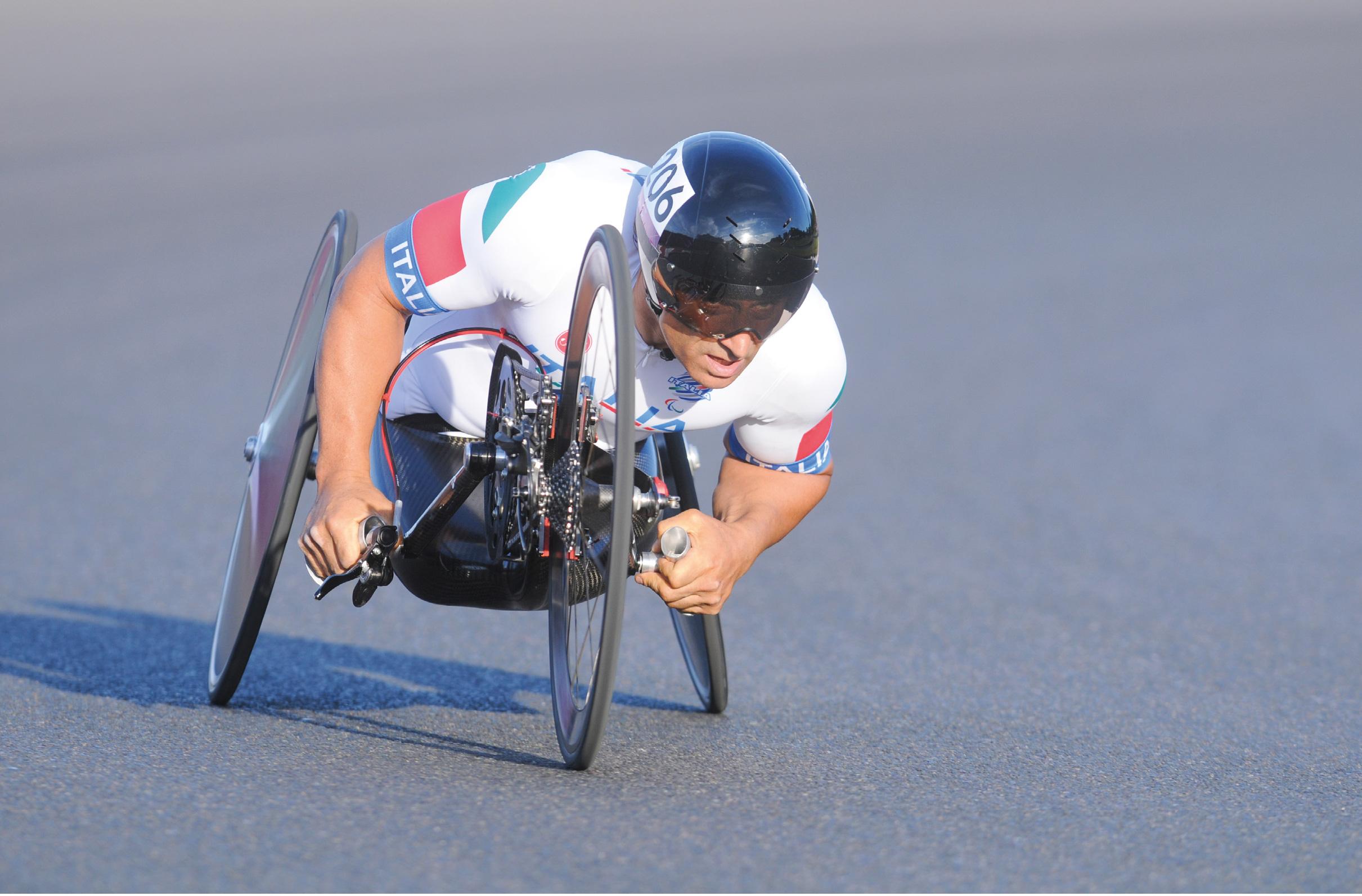 Alessandro Zanardi, campeão paraolímpico de ciclismo nas provas de estrada e contrarrelógio. Foto http://alex-zanardi.com/