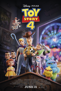 Capa Toy Story / 4
