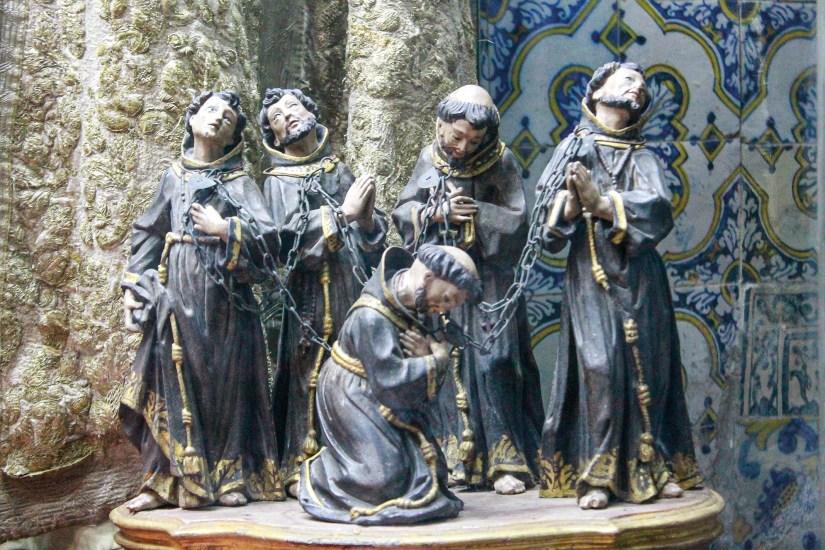 Mártires de Marrocos na Igreja de Santa Cruz de Coimbra