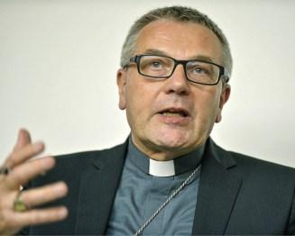 Jean-Luc Brunin, bispo de Le Havre, na Mensagem ao Conselho das Igrejas Cristãs de França, Corinne SIMON/CIRIC, 2015.