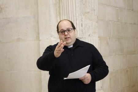 Francisco Prior Claro, da Comissão Executiva, apresenta o Programa do Jubileu 2020