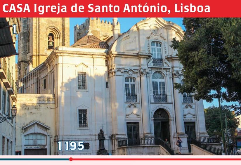 CASA Igreja de Santo António, Lisboa