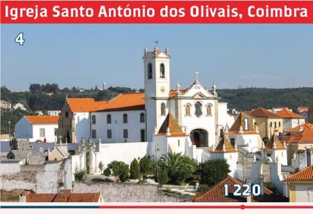 Igreja Santo António dos Olivais, Coimbra