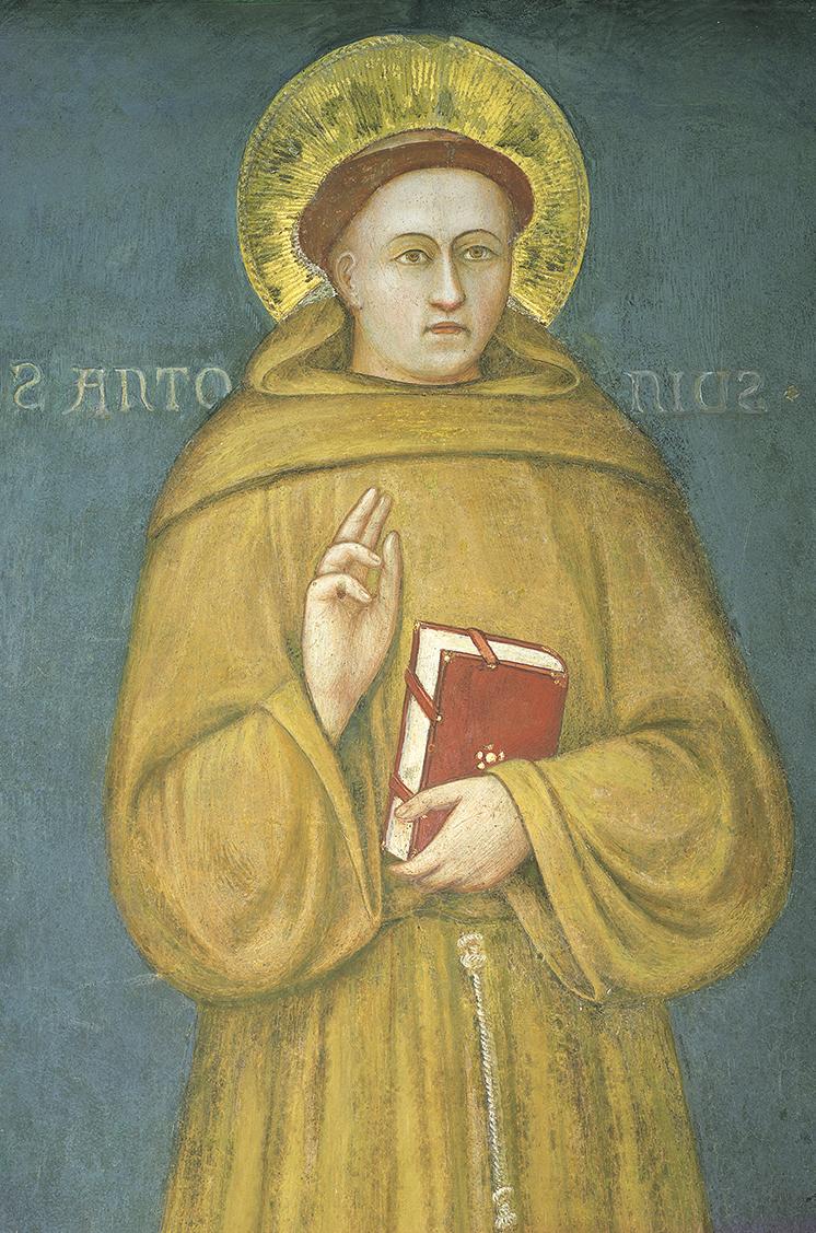 Santo António, pintura de Giotto, Basílica de Santo António de Pádua