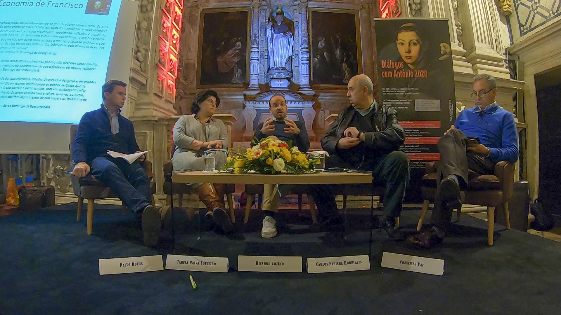 Diálogos com António: A Economia de Francisco