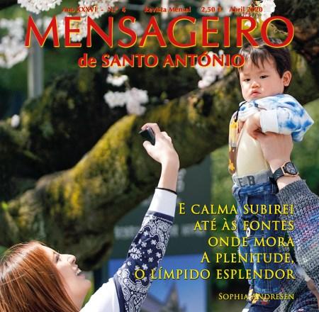 Banner capa Mensageiro de Santo António abril 2020