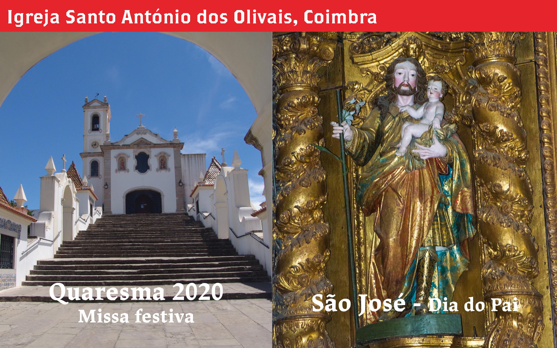 Dia de São José, Igreja de Santo António dos Olivais, Coimbra