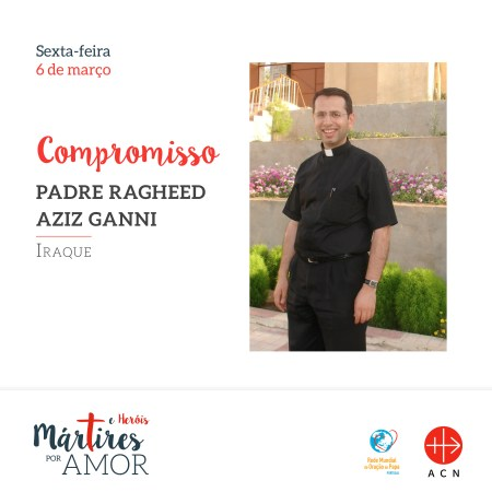 COMPROMISSO - Iraque: Padre Ragheed Aziz Ganni