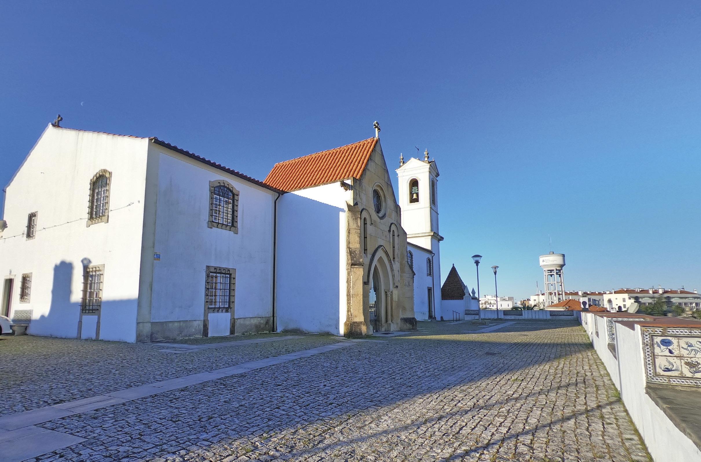 Igreja/convento de Santo António dos Olivais, em Coimbra. Foto MSA abril 2020.