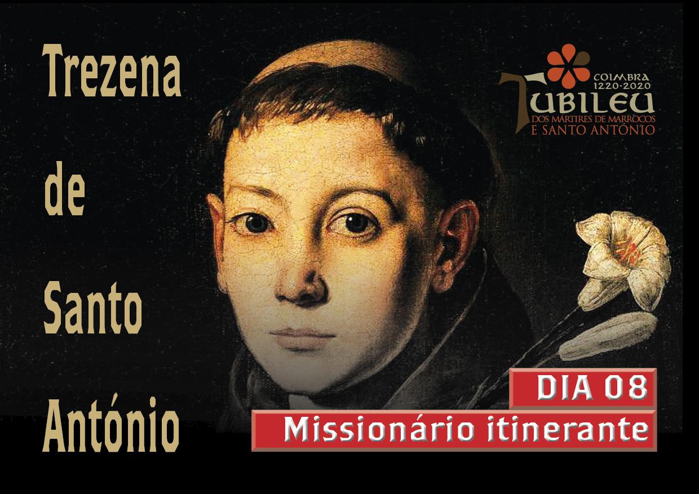 Trezena 2020 dia 08 - Missionário Itinerante