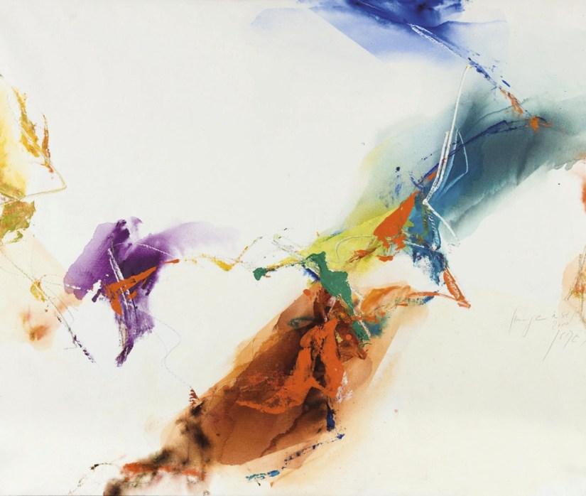 Kim En Joong, Sem título, 2000, Óleo sobre tela, Coleção Museu Irlandês de Arte Moderna, Doação, IBRC, 2011