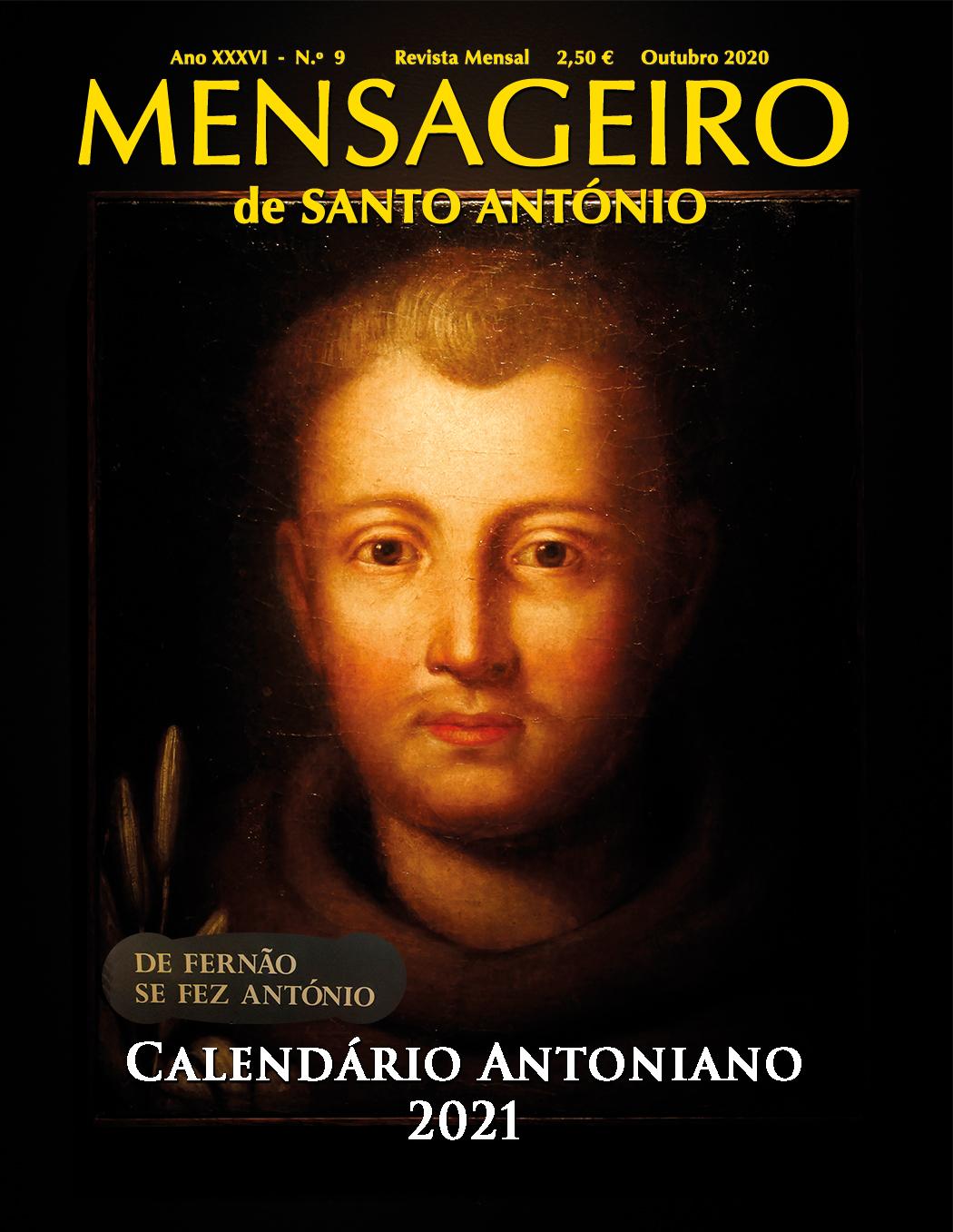 Calendário Antoniano 2021 - De Fernão se fez António