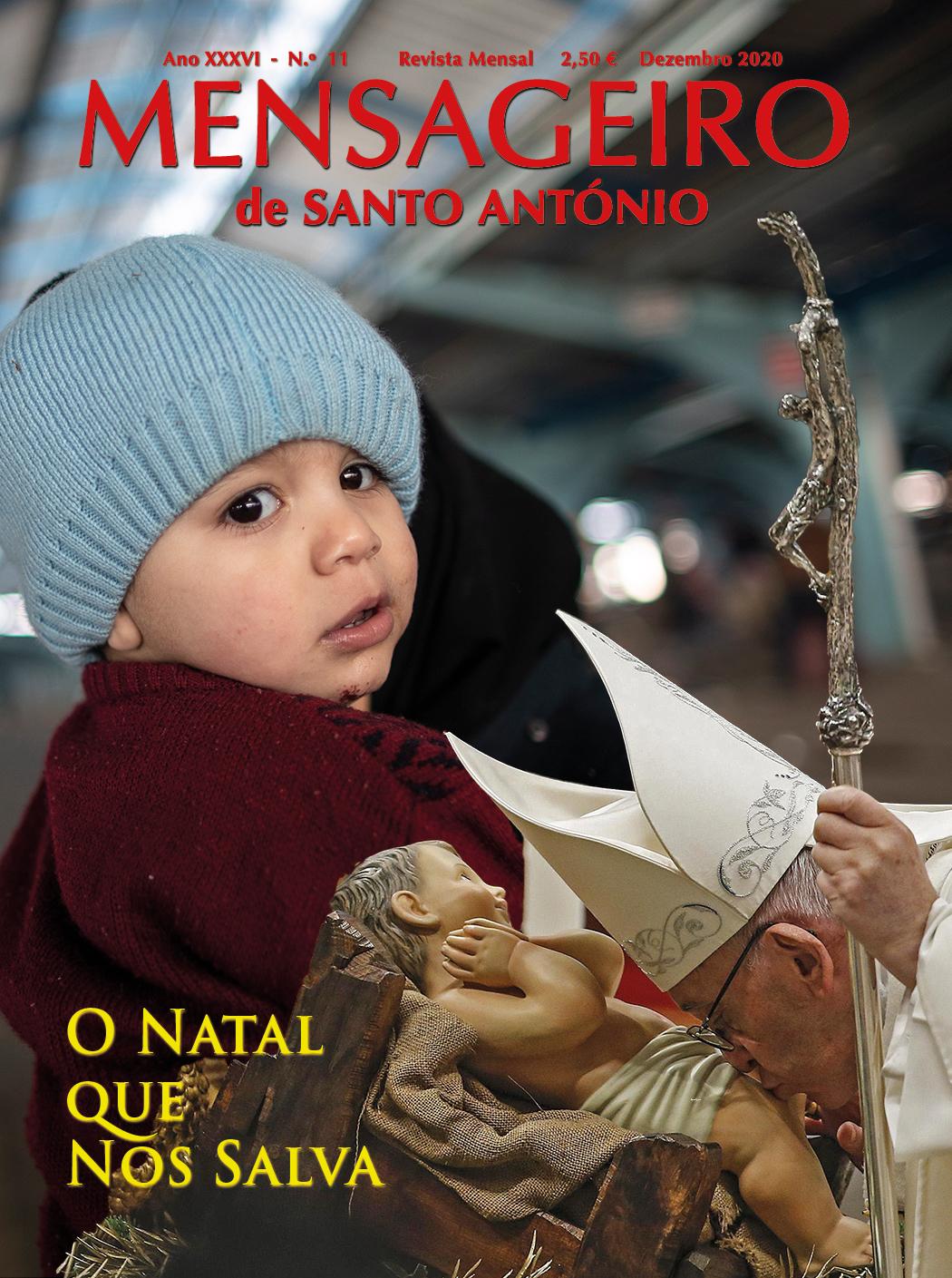 Mensageiro de Santo António - Edição de dezembro 2020