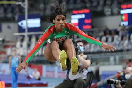 Patricia Mamona ganha a medalha de ouro no triplo salto, na prova de triplo salto nos Europeus de Atletismo 2021