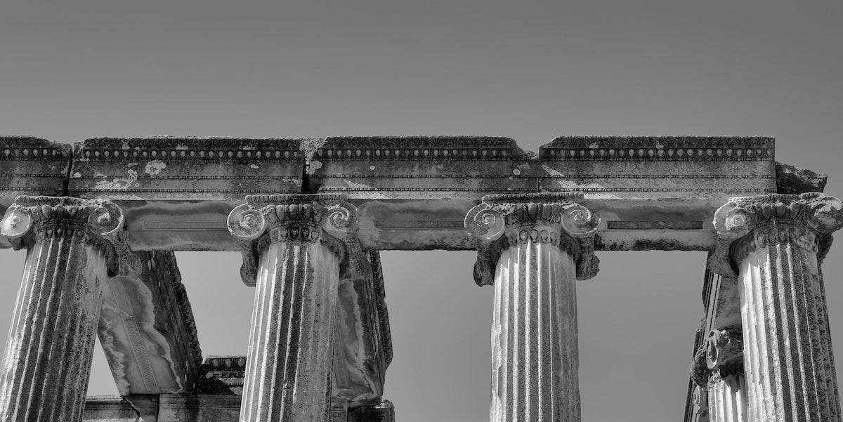 Ruínas do Templo de Jerusalém do sec I. Foto de Yusuf Dundar | Unsplash.